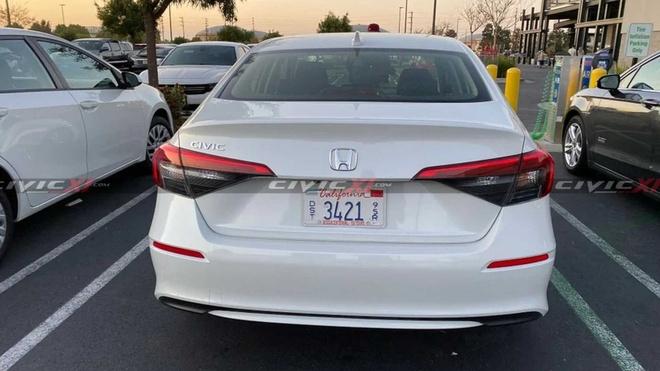 Honda Civic 2022 lo anh thuc te anh 3