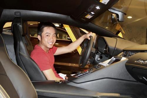 Thu vui moi ngoai sieu xe cua Quoc Cuong Gia Lai hinh anh