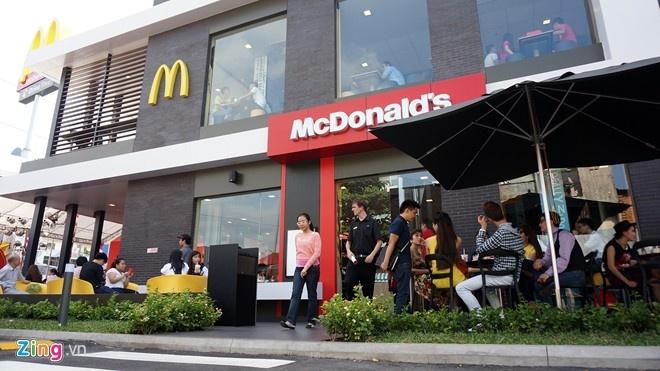 McDonald's se mo 100 cua hang tai Viet Nam hinh anh