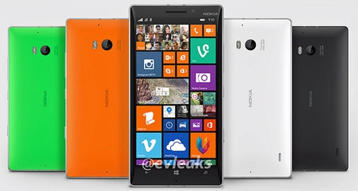 Nokia Lumia 1820 va Lumia 930 lo dien truoc them Build 2014 hinh anh 1 Hình ảnh phiên bản mới của Nokia Lumia.