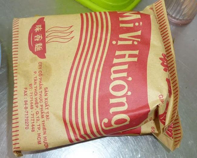Nhung thuong hieu khoi dau cua thi truong mi goi Viet hinh anh 1 Xuất hiện từ những năm 60 của thế kỷ XX, mì Vị Hương là sản phẩm nổi tiếng của công ty Thiên Hương, và được xem là nét văn hóa ẩm thực nổi bật của miền Nam Việt Nam và vùng Đông Nam Á thời bấy giờ.