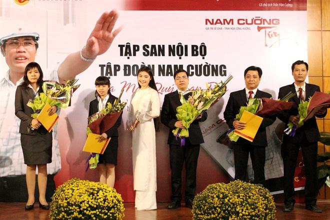 Nhung ai nu tai sac nha dai gia Viet hinh anh 4 Quỳnh Ngọc được xem là người sẽ thừa kế duy nhất cho chiếc ghế lãnh đạo của Tập đoàn Nam Cường. Ảnh: Website Nam Cường.