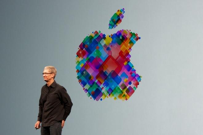 Co phieu Apple mat nhiet trong ngay ra mat iPhone 6 hinh anh