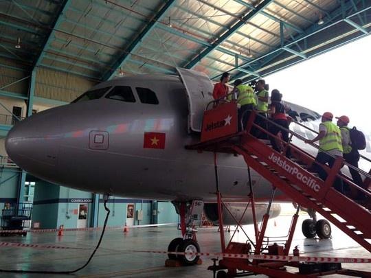 May bay canh cong dau tien cua Jetstar Pacific ve Viet Nam hinh anh 3