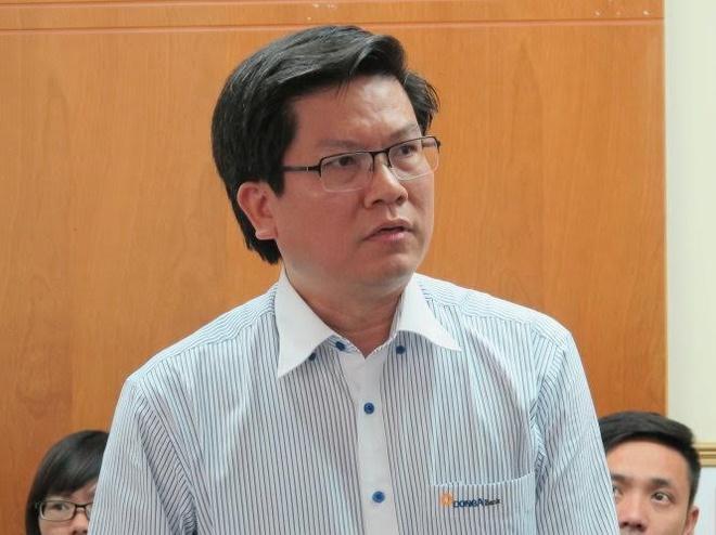 Ông Nguyễn An - tân CEO ngân hàng Đông Á.