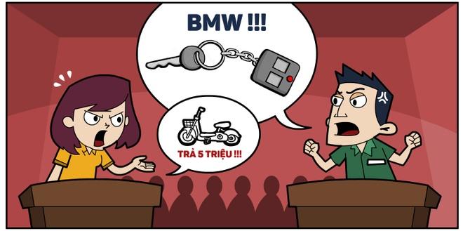 Hi hoa: Cuoc vien thong mot thang bang tien mua xe BMW hinh anh 4 Tại phiên hòa giải, khách chỉ đồng ý chi trả nợ cước theo những cuộc gọi phát sinh trước 22h ngày 18/1, trong khi nhà mạng giữ quan điểm thu đủ số tiền trên.