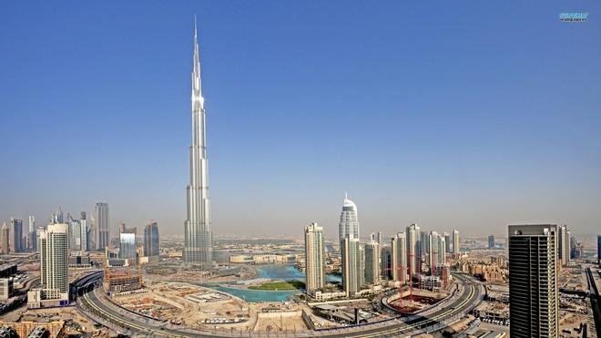 Rac roi cua toa nha cao nhat the gioi - Burj Khalifa hinh anh
