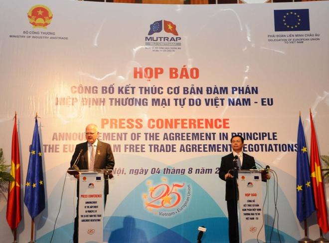 Ngay mai ky ket chinh thuc FTA Viet Nam - EU hinh anh