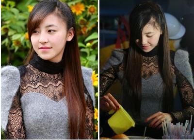 Nong trong ngay: 'Hot girl banh trang tron', to tinh Kim Tan hinh anh