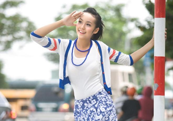 7 hot girl co chieu cao noi troi cua showbiz Viet hinh anh 4