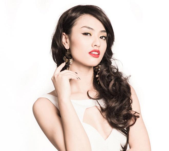 7 hot girl co chieu cao noi troi cua showbiz Viet hinh anh 6