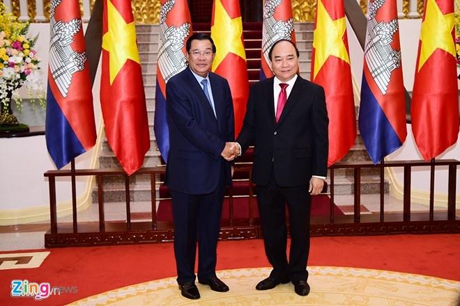 Tuyen bo chung Viet Nam - Campuchia anh 1