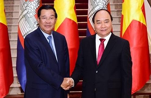 Tuyen bo chung Viet Nam - Campuchia hinh anh