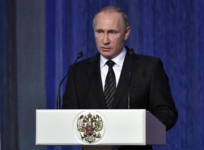 Tong thong Putin noi quan doi Nga manh hon moi doi thu hinh anh 1