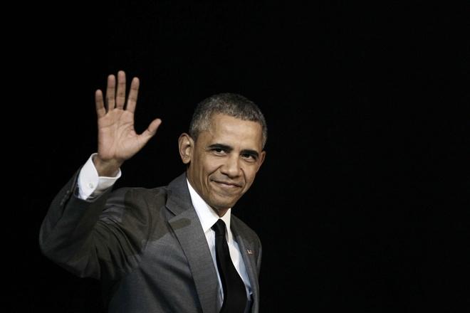 Video Tong thong Obama chia tay nuoc My hinh anh