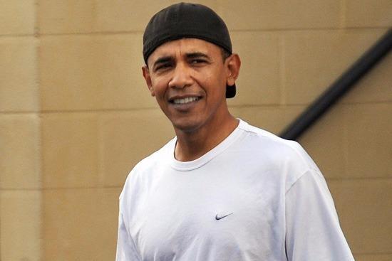 Obama mang dep xo ngon, doi mu luoi trai nguoc di nghi hinh anh