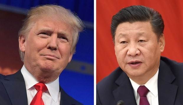 Ong Trump dien dam ong Tap, hua ton trong 'Mot Trung Quoc' hinh anh 1