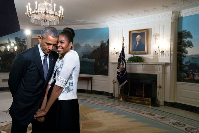 Valentine cua nha Obama: 'Gui tinh yeu cuoc doi' hinh anh 1