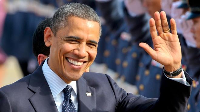 Obama xep thu 12 trong cac tong thong My vi dai nhat hinh anh 1