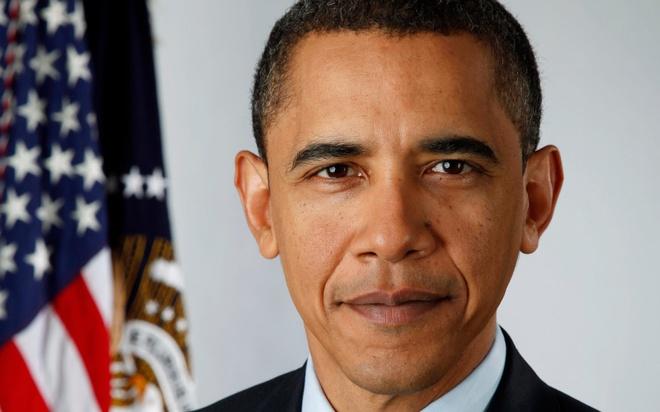 Obama xep thu 12 trong cac tong thong My vi dai nhat hinh anh