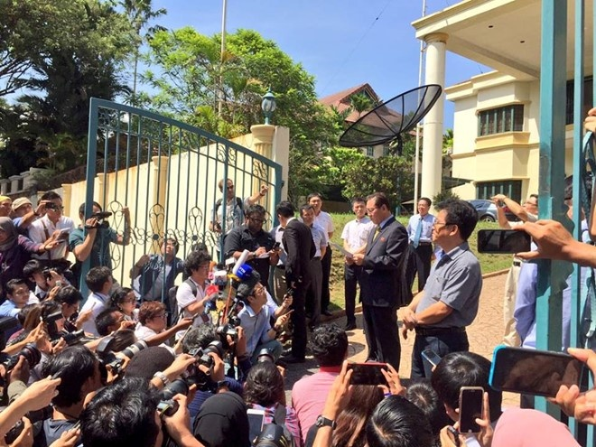 KCNA: Malaysia co loi trong cai chet cua Kim Jong Nam hinh anh 1