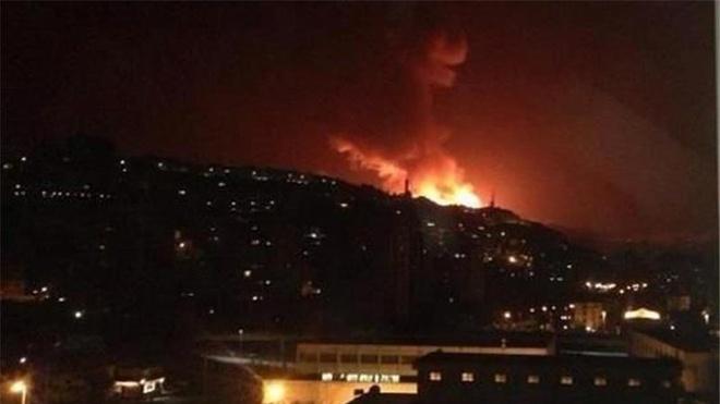 Israel doa pha huy he thong phong khong cua Syria hinh anh 1