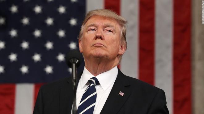 Trump: My tang cuong quan su doi pho Trieu Tien hinh anh