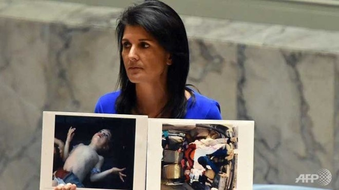 Sau cuoc 'doi mua' Tomahawk, chinh quyen Trump muon Assad ra di hinh anh