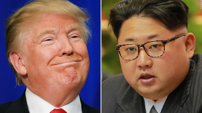 Trump noi se la 'vinh du' neu gap Kim Jong Un hinh anh 1