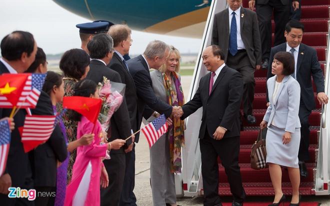 Thu tuong Nguyen Xuan Phuc toi Washington DC hinh anh 2