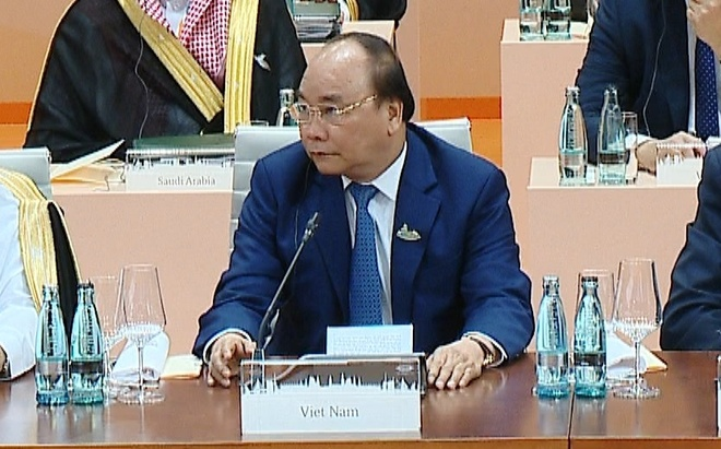 Thu tuong nhan manh hop tac ung pho bien doi khi hau tai G20 hinh anh