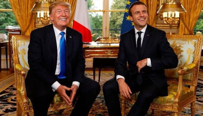 Tong thong Trump ngu y co the dua My tro lai thoa thuan Paris hinh anh 1