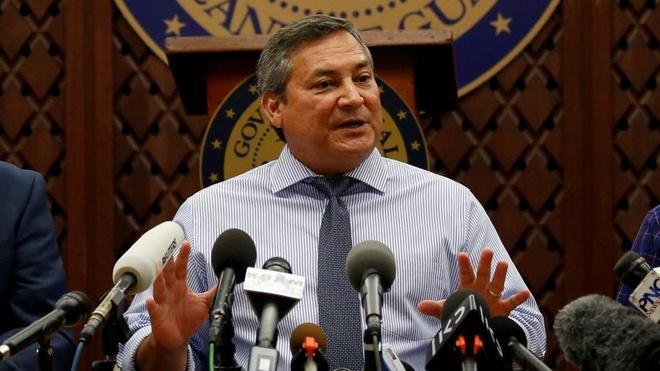 Lanh dao Guam: Hay cho Trieu Tien 'cu dam thang mat' hinh anh 1