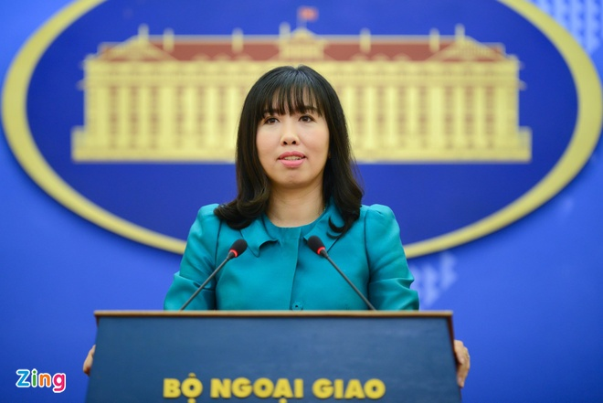 Viet Nam phan doi Dai Loan ban dan that o dao Ba Binh hinh anh 1