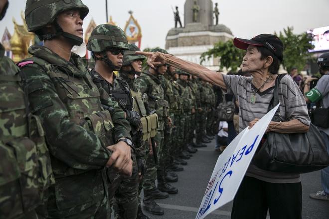 Khung hoang chinh tri Thai: Be tac khong loi thoat hinh anh