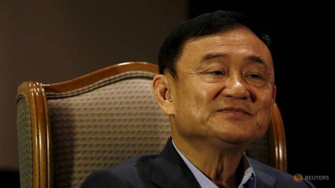 Ong Thaksin lan dau len tieng sau khi ba Yingluck dao thoat hinh anh