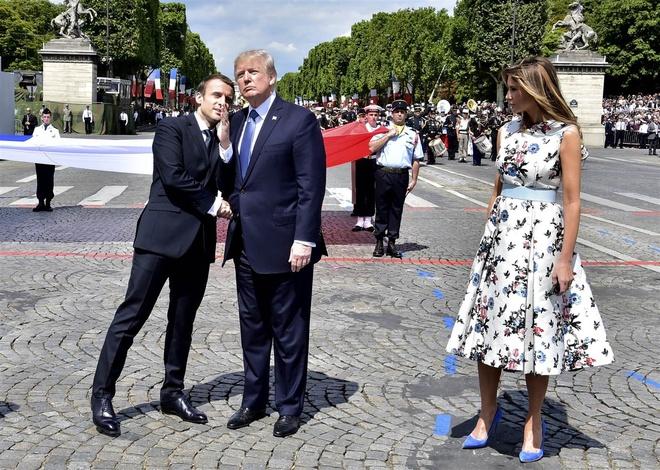 Ong Trump muon My duyet binh hoanh trang nhu Phap vao quoc khanh hinh anh 1