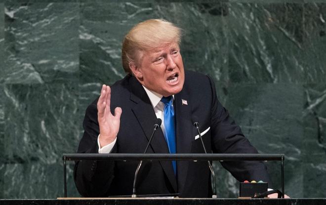 Chau A dau dau voi de doa 'huy diet hoan toan Trieu Tien' cua Trump hinh anh