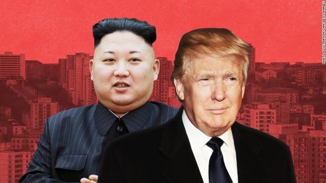 Tong thong Trump muon tranh chien tranh hat nhan voi Trieu Tien hinh anh