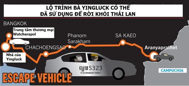 Thu tuong Thai Lan xac nhan ba Yingluck dang o Dubai hinh anh 2