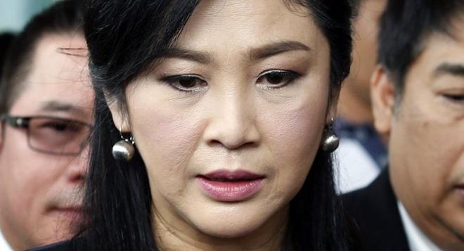 Thu tuong Thai Lan xac nhan ba Yingluck dang o Dubai hinh anh