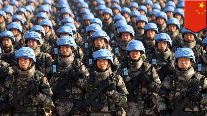 Trung Quoc gop 8.000 quan cho luc luong gin giu hoa binh LHQ hinh anh 1