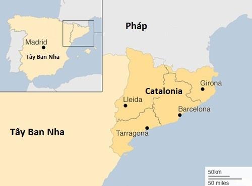 Canh sat truong Catalonia bi dieu tra ve cao buoc 'phan loan' hinh anh 2