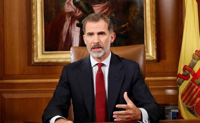 Vua Tay Ban Nha: No luc ly khai cua Catalonia 'khong the chap nhan' hinh anh 1