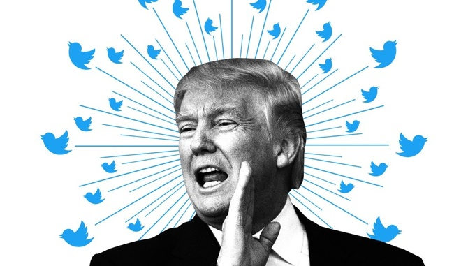 Ong Trump tiet lo ly do dung Twitter anh 1