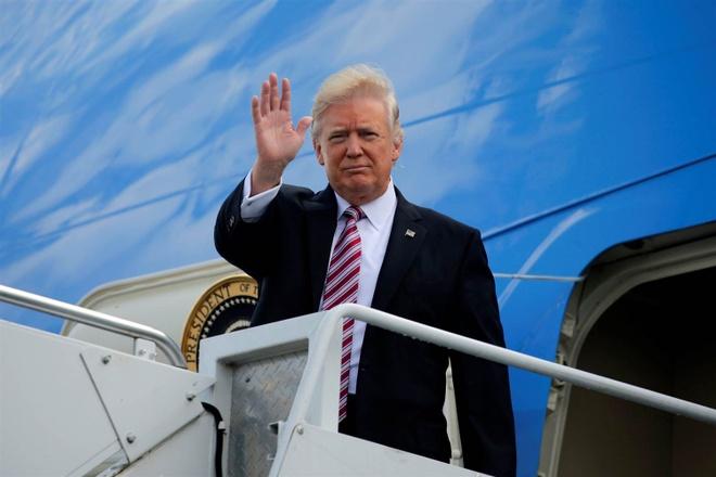 Trump den Da Nang anh 1