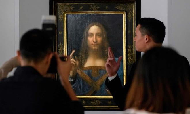 'Dang Cuu the' cua Da Vinci gia 450 trieu USD, dat nhat moi thoi dai hinh anh 1