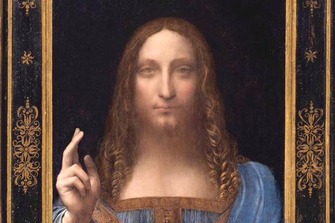 'Dang Cuu the' cua Da Vinci gia 450 trieu USD, dat nhat moi thoi dai hinh anh