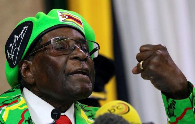 Ong Mugabe dong y tu chuc tong thong Zimbabwe hinh anh