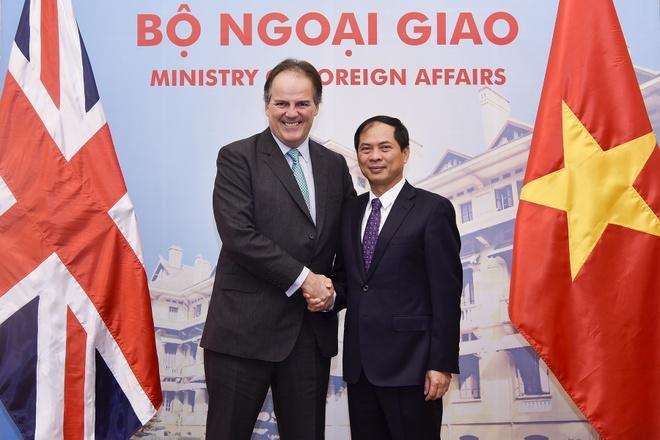 Viet - Anh cam ket khong gian doan quan he song phuong sau Brexit hinh anh 1